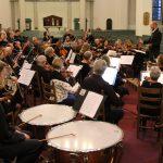 Concert in de Grote Kerk in Gorinchem (generale repetitie), oktober 2016)